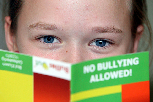Schools are integrating anti-bully programs that teach children it's