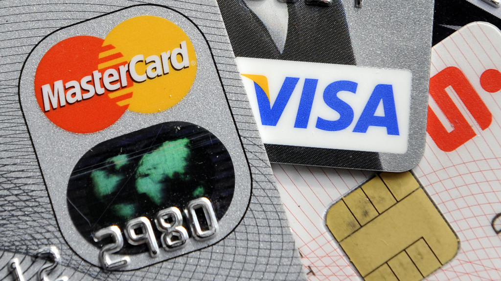 By this time next year, U.S consumer will likely use credit cards with electronic chips, like these in Germany. But they're only expected to stop 60 percent of fraud, prompting a retailers' spokesperson to call them the