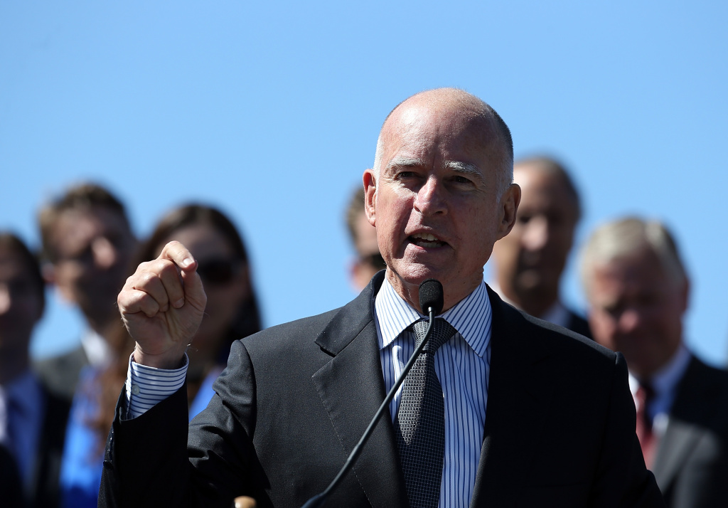 Gov. Jerry Brown will deliver his annual State of the State address later this morning.
