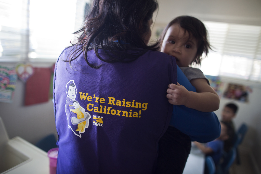 Antonia Rivas, who runs her own childcare business, thinks some of her challenges can be solved if she is part of a labor union. Senate President Pro Tem Kevin De Leon is introducing a bill to set up a structure to facilitate collective bargaining for family child care workers.