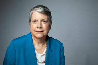 UC President Janet Napolitano Credit: Elena Zhukova/University of California