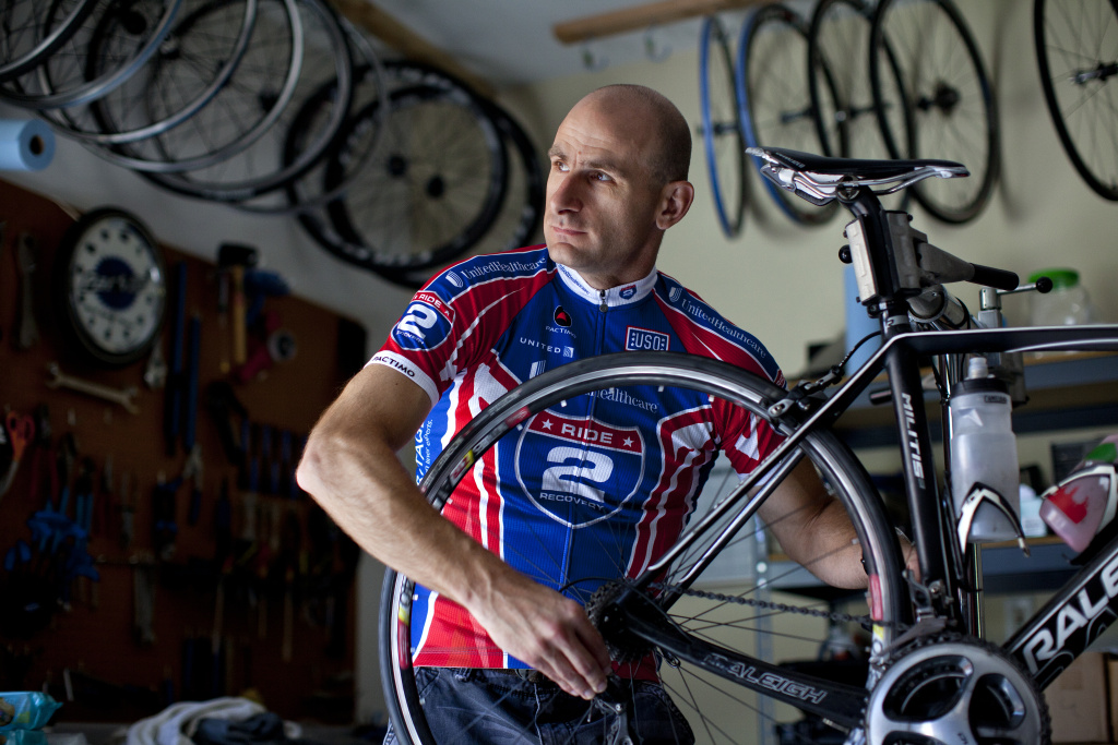 Kris Skinner is a veteran who has seen great progress dealing with PTSD through alternative programs outside of Veterans Affairs hospitals. He has received help from the Soldiers Project and is active in the Ride 2 Recovery program, which enables veterans to participate in long distance group bike rides. The rides serve as a form of therapy for people dealing with PTSD, Skinner said.  He retired from the Army as Captain in the 10th Mountain Division after serving in Kosovo and Iraq.