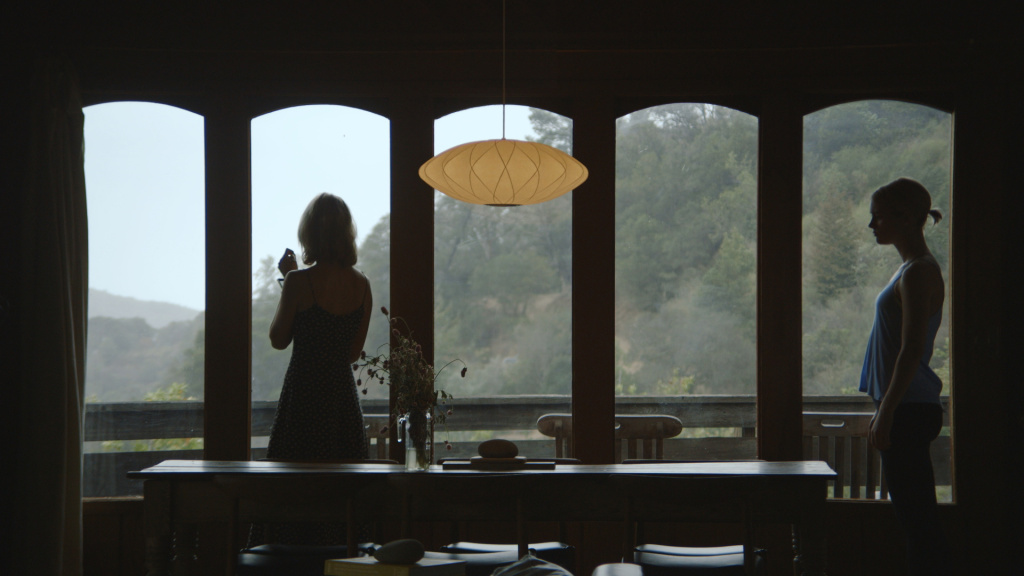 """Still from """"Always Shine"""" featuring Caitlin FitzGerald (left) and Mackenzie Davis (right)."""