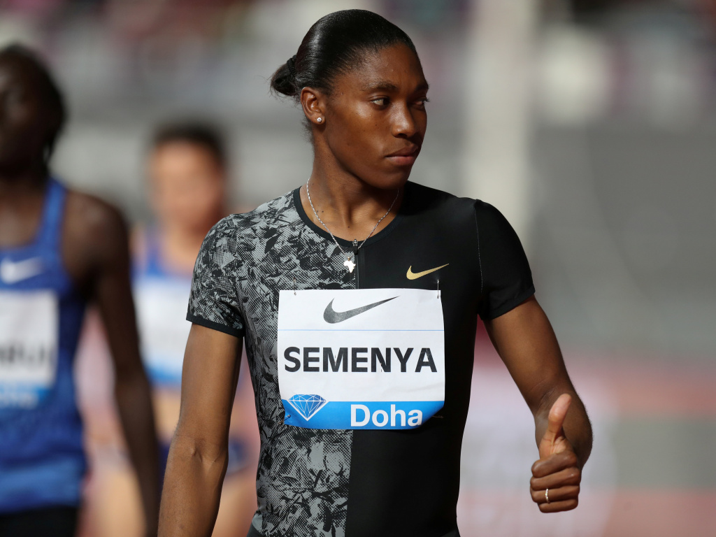 Caster Semenya has won a temporary block against regulations that would require her to lower her testosterone levels artificially before being allowed to compete in some races.