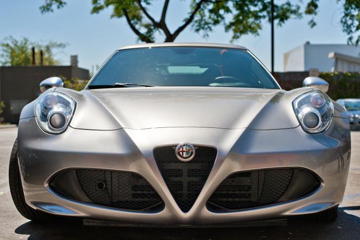 The all new Alfa Romeo 4C ...