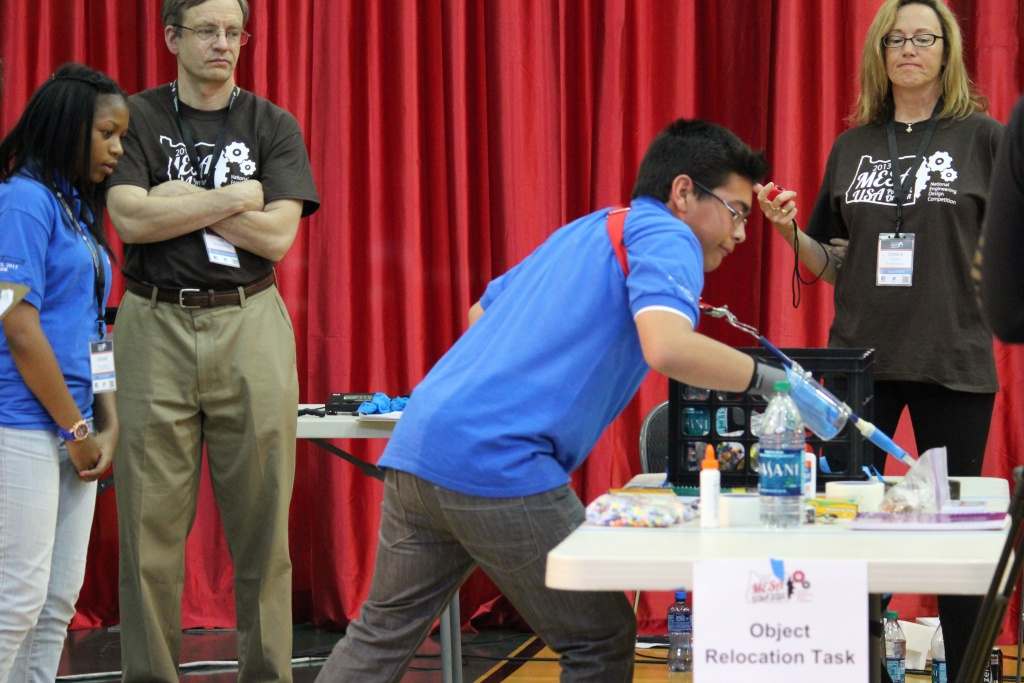 Watts Middle School Students Build Prosthetic Win