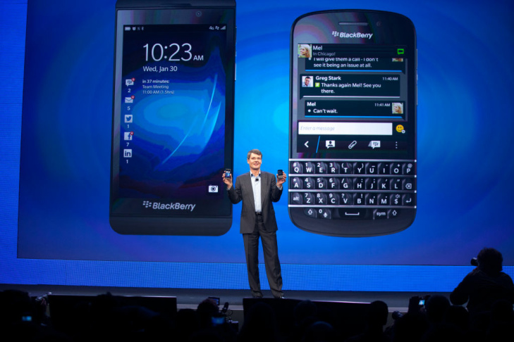 BlackBerry 10 launch 2013