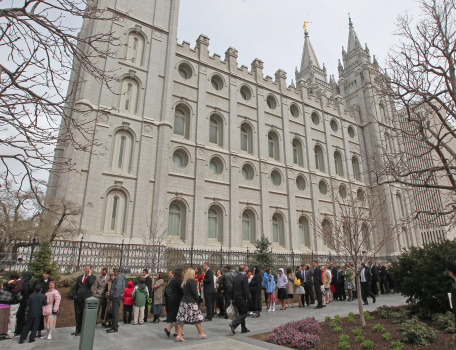 Mormon Church Holds Its Biannual General Conference