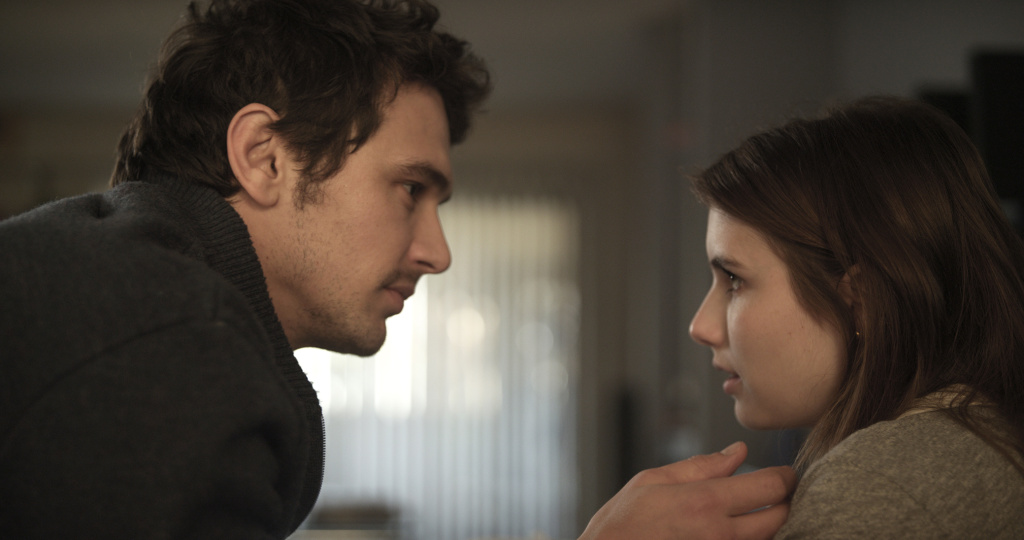James Franco and Emma Roberts star in Gia Coppola's