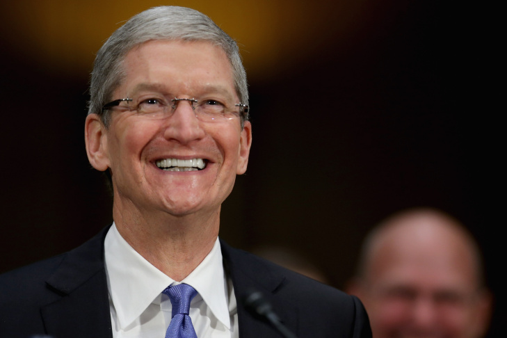 Apple CEO Tim Cook Testifies At Senate Hearing On U.S. Tax Code