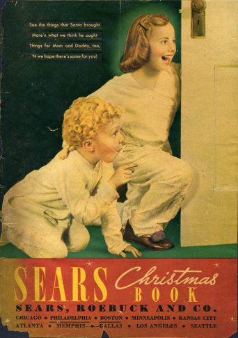 1937 Sears Christmas catalog, one of 20,000 scanned pages at WishbookWeb.com.