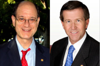 Democratic CA Congressman Brad Sherman and Republican CA Congressman John Campbell