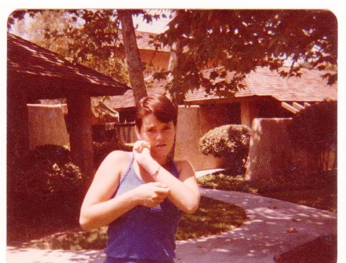 Young Debbie Brown, before she became Bobbi Brat