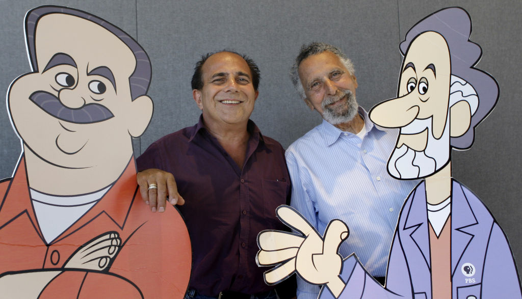 Ray Magliozzi, left, and his brother, the late Tom Magliozzi, hosts of National Public Radio's