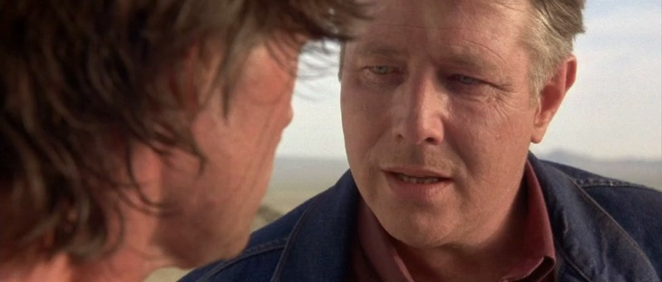 Actor Harry Dean Stanton in