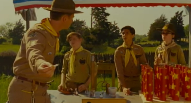 A screen shot from 'Every Single Word Spoken by a Person of Color in 'Moonrise Kingdom,'' as seen on Dylan Marron's YouTube channel.