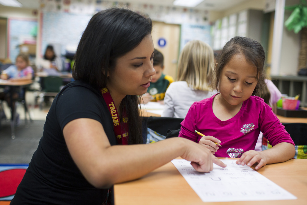 File photo: Teachers can sign up for one-day workshops around California that aim to better prepare them to teach the learning standards known as the Common Core.