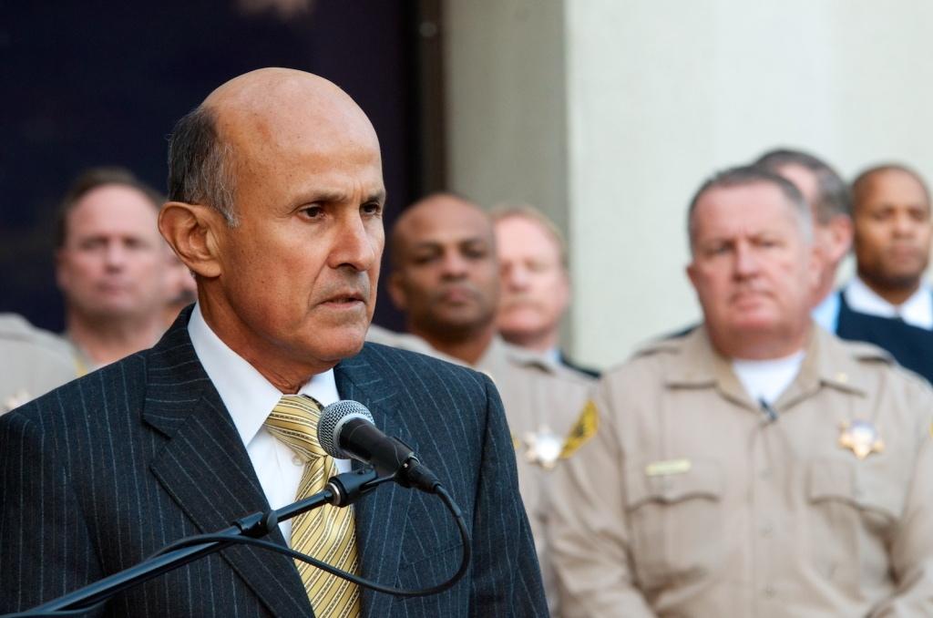On Monday Dec. 9 Los Angeles Sheriff Lee Baca held a press conference to respond to federal criminal charges against 18 Los Angeles sheriff's deputies.