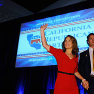 Michelle Bachmann Addresses The CA GOP Fall Convention Ahead Of The State's Republican Straw Poll