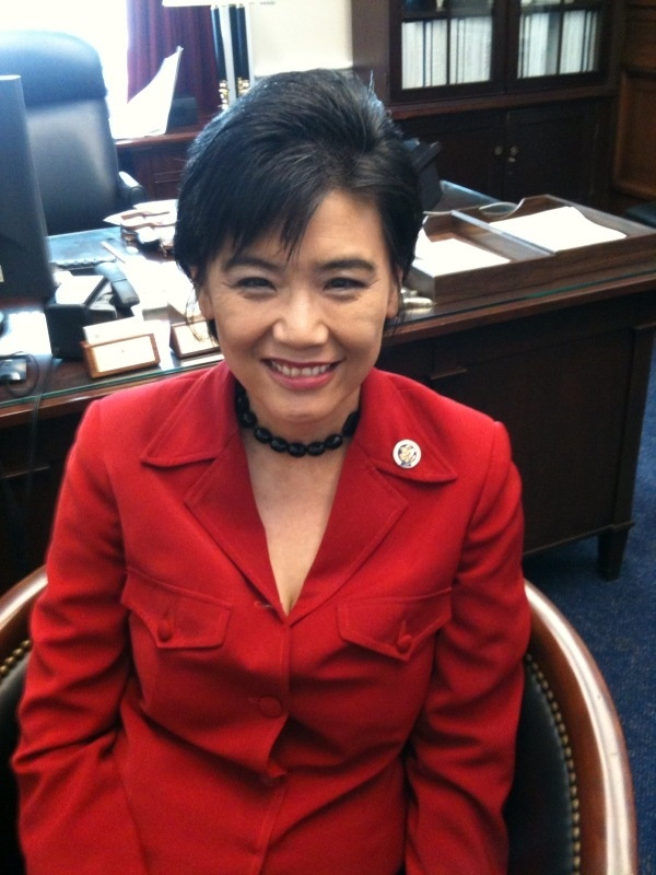 Democratic Congresswoman Judy Chu of El Monte
