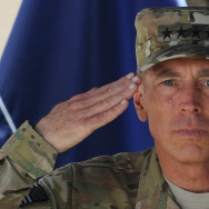 Commander of NATO troops in Afghanistan,