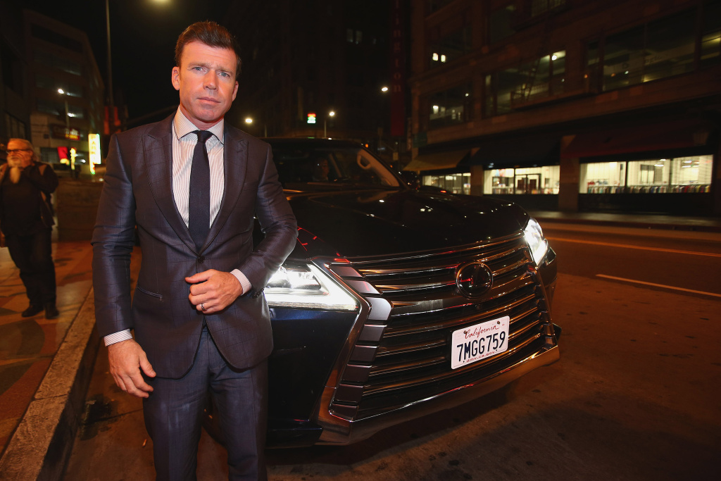 Taylor Sheridan attends the after party for