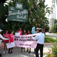 Women's Rights, LGBT, and Human Rights Groups Protest Sultan of Brunei's Human Rights Policies