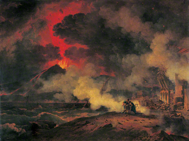 The Eruption of Vesuvius, 24 August A.D. 79.