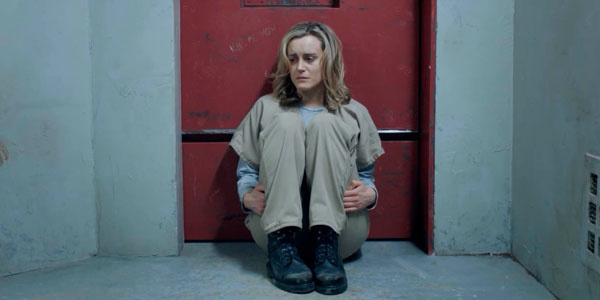 Taylor Schilling as Piper Chapman in the NetFlix series