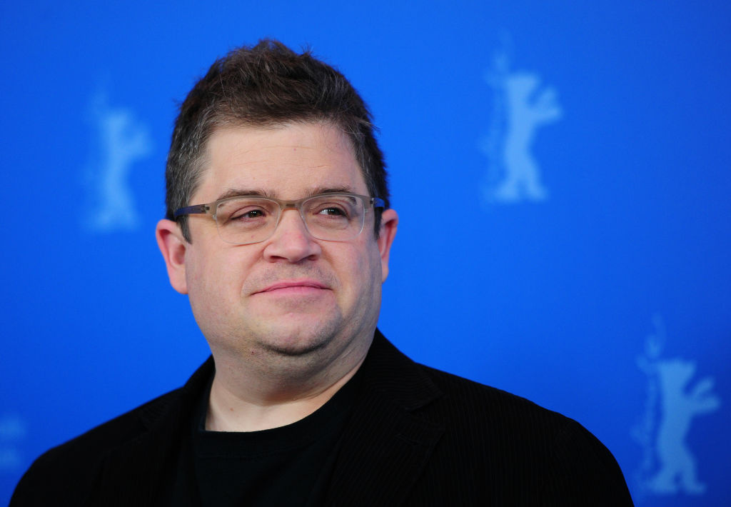 US actor Patton Oswalt poses for photographers at the photocall for the film