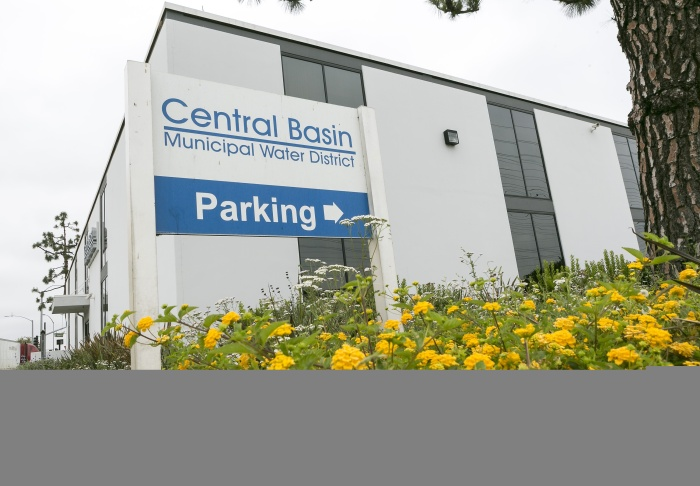 The offices of the Central Basin Municipal Water District in Los Angeles County are seen in Commerce, Calif., in a Wednesday, June 12, 2013 photo. The state has hundreds of local water districts, which often deal with millions of dollars but operate as quasi-government entities with very little oversight or public scrutiny.