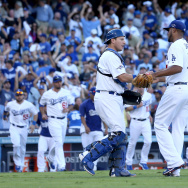 NLCS - St Louis Cardinals v Los Angeles Dodgers