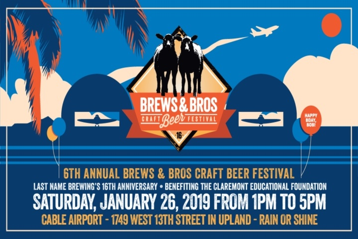 Claremont Educational Foundation - Brews & Bros Craft Beer Festival 2019