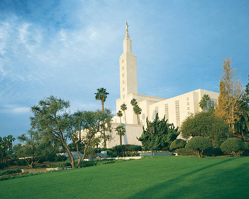 The Los Angeles California Temple.