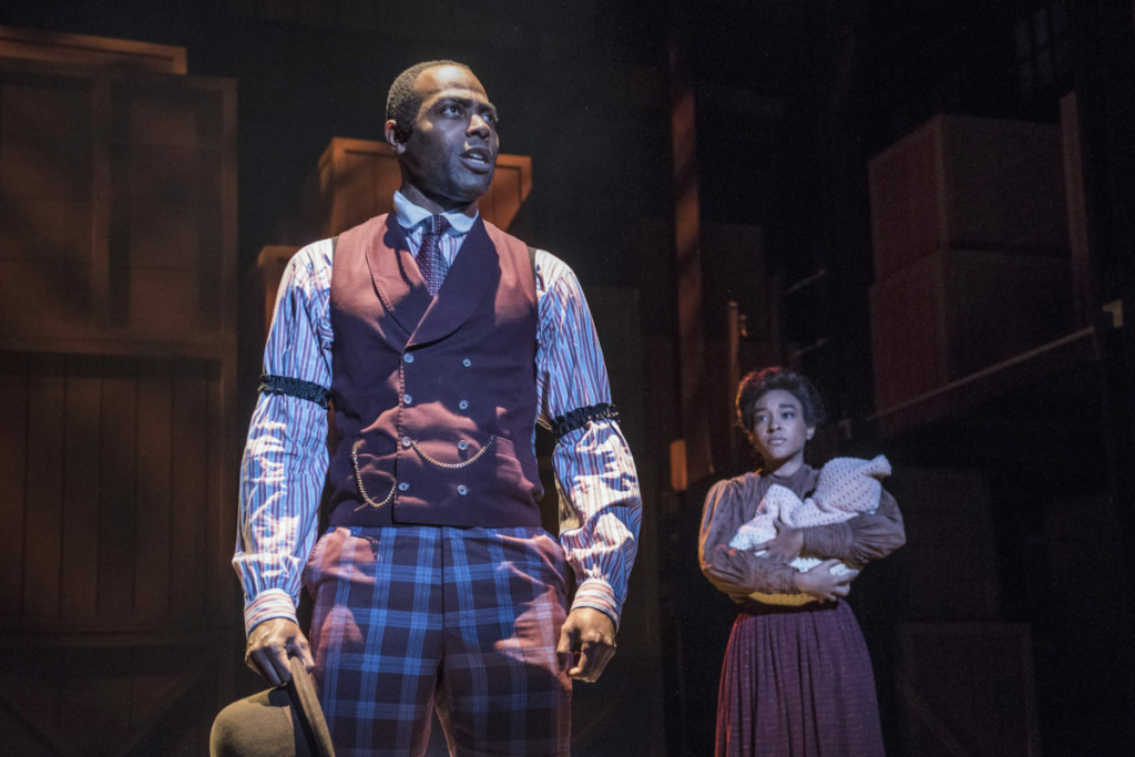 Clifton Duncan plays Coalhouse Walker in the Pasadena Playhouse production of