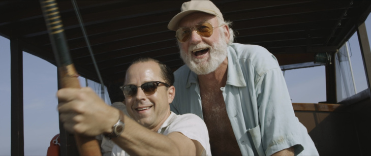 Giovanni Ribisi and Adrian Sparks are seen in a still from the film, 'Papa: Hemingway in Cuba.'