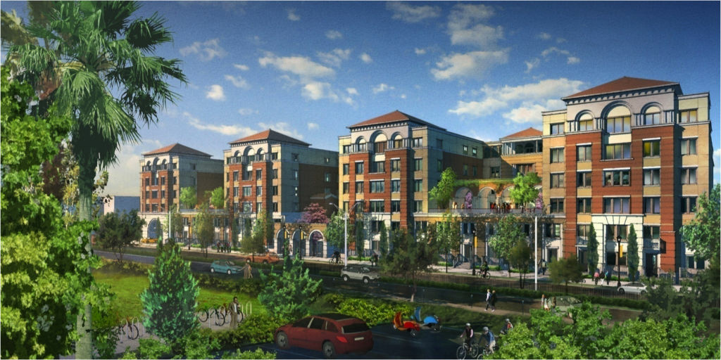 USC's $1 billion development will include new student housing facilities and a retail center.
