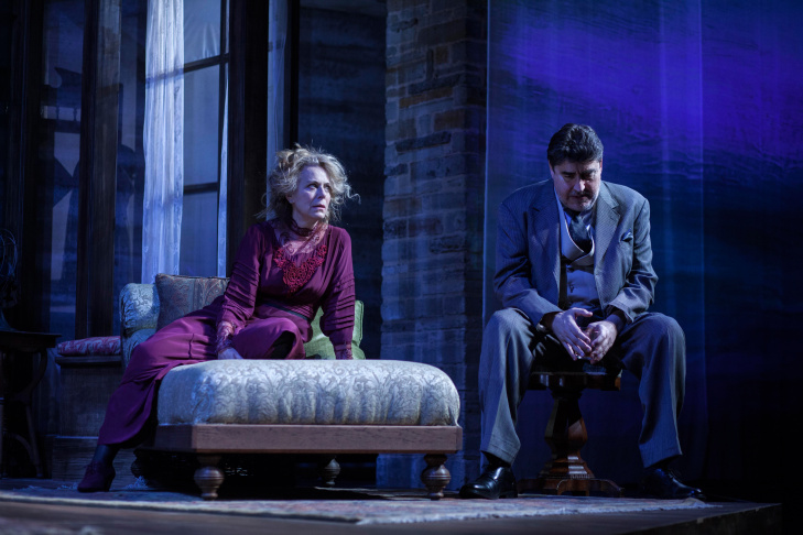 Alfred Molina and Jane Kaczmarek