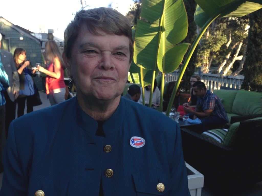 Supervisor Sheila Kuehl.