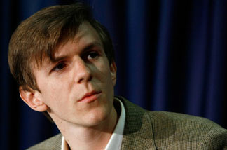 James O'Keefe, at the National Press Club last year.