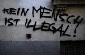 Graffiti in Munich, Germany, February 2008