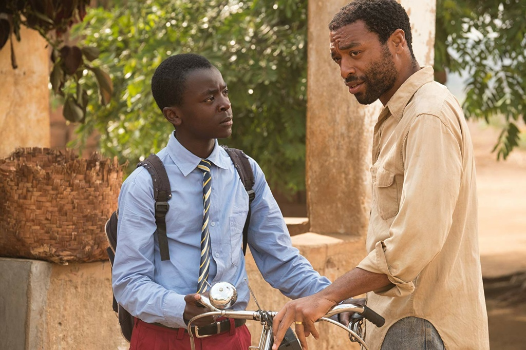 Chiwetel Ejiofor (R) wrote, directed and stars in (with Maxwell Simba)
