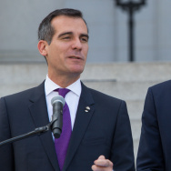 "Shawn ""Jay Z"" Carter and LA Mayor Eric Garcetti - Press Conference"
