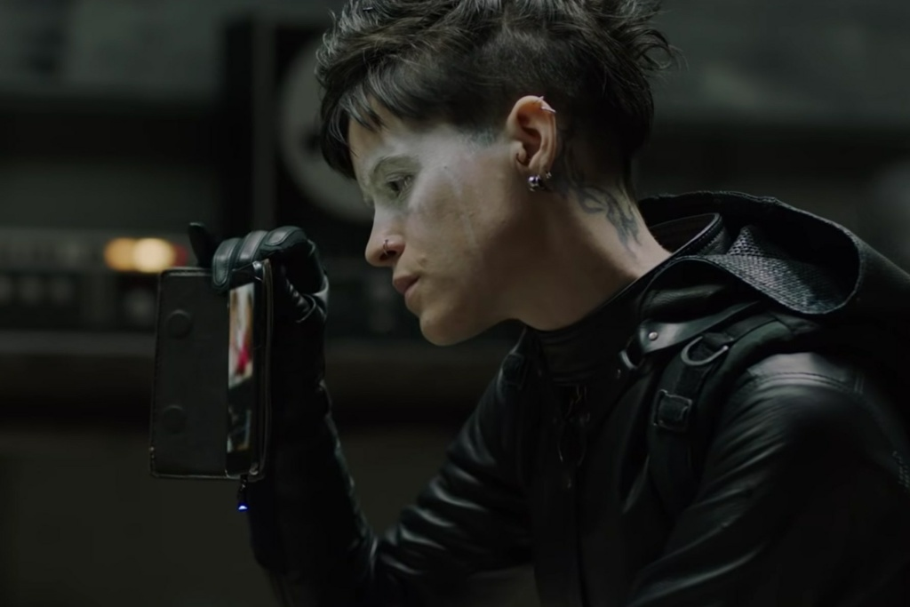 Claire Foy as Lisbeth Salander in Columbia Pictures'