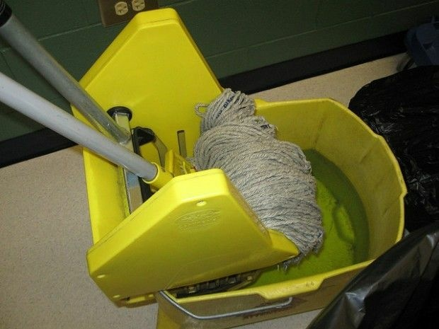 The tools of a trade in which subcontracted labor is common, November 2009