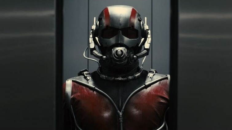 Ant-Man seen in an image tweeted by Marvel.