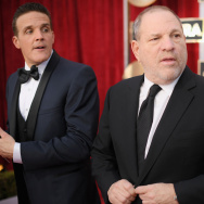 Producer Harvey Weinstein attends The 23rd Annual Screen Actors Guild Awards at The Shrine Auditorium on January 29, 2017 in Los Angeles, California.
