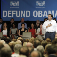 "Sen. Ted Cruz Speaks Before A ""Defund Obamacare"" Town Hall"