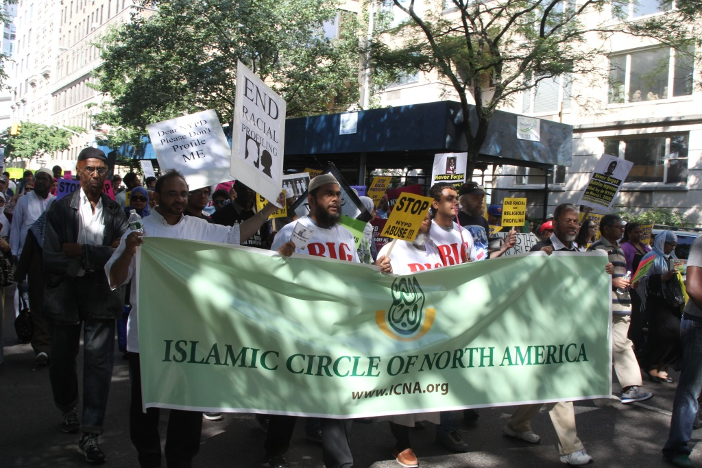 The religious group, Islamic Circle of North America, is working to change Islam's image in America. Billboards have gone up in Sacramento and Los Angeles and will eventually stretch to the East Coast with messages of peace.