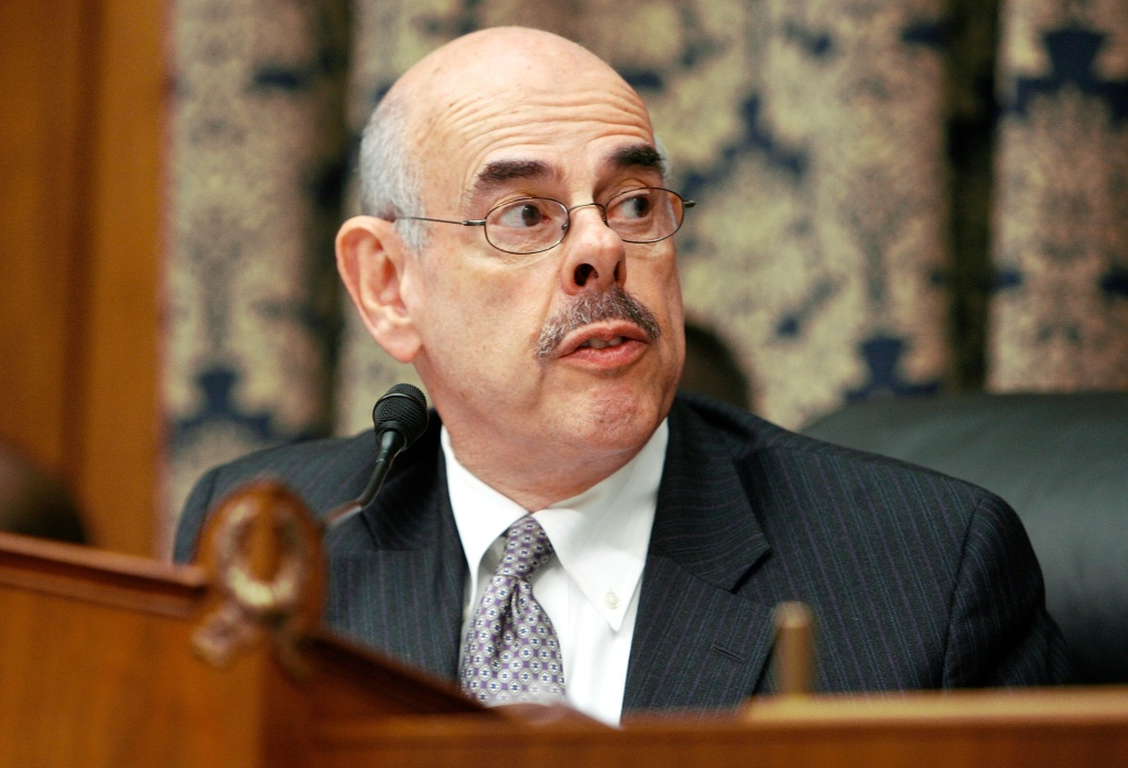 House Oversight and Government Reform Committee Chairman Henry Waxman (D-CA) holds a hearing about the combat fratricide of NFL star and US Army Ranger Pat Tillman on Capitol Hill August 1, 2007 in Washington, DC.